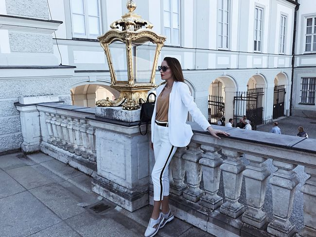 Full Length Architecture One Person Outdoors Built Structure Beauty Luxury Building Exterior Adult Standing Fairytale  Likeadream Women People Fashion Fashionable