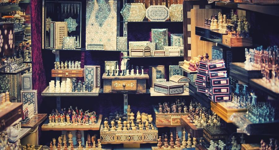 A chess shop Chess Choice For Sale Arrangement Large Group Of Objects Variation Retail  Abundance Collection Sale Market Store No People Shopping Side By Side