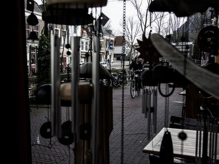 Architecture City Built Structure Building Exterior No People Glass - Material Transparent Outdoors Day Cafe Business Food And Drink Selective Focus Reflection Building Metal Food And Drink Industry
