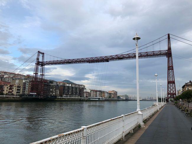 Portugalete Bridge Cammino Del Nord Cammino Di Santiago Architecture Built Structure Water Connection