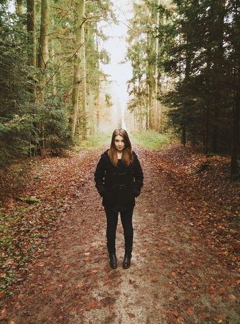 Cora. Atumn Colors Of Autumn Symmetry Portrait