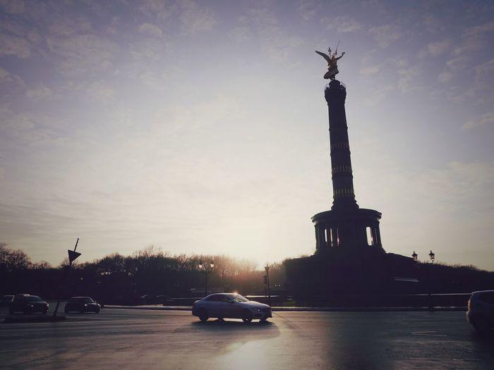 Architecture Built Structure EyeEm Best Shots Lights City Street Light Sunset Car