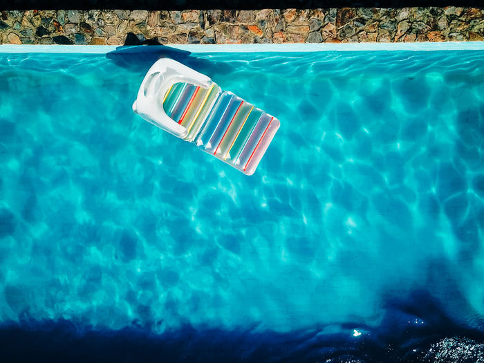 Aerial View Blue Day Dronephotography Floating Floating On Water Holiday Inflatable  Nature No People Outdoors Pool Sunlight Swimming Swimming Pool Transparent Trip Turquoise Colored Vacations Water
