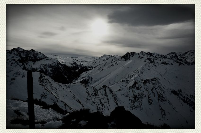 Mountain View , Skyporn, Leiwandst , Monochrome