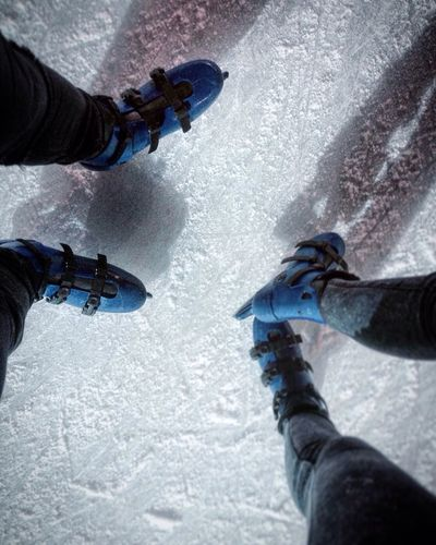 Cold weather perfect for ice skating❄️ Winter Human Body Part Leisure Activity Snow Human Hand Sport Cold Temperature Ice Recreational Pursuit Low Section Men Women Day Adventure Low Angle View Outdoors People Winter Sport Point Of View Adult