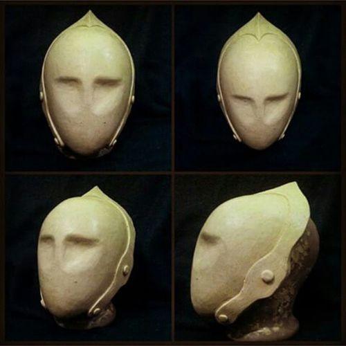 "Шлем алхимика из фильма ""Vidocq"". Пластилиновая мастер-модель. Alchemic's helmet from ""Vidocq"". Clay master-model. Vidocq Helmet Mask Craft clay maskcraft"