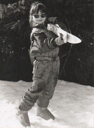 Il était une fois moi au ski Tbt : ) Winter Blackandwhite