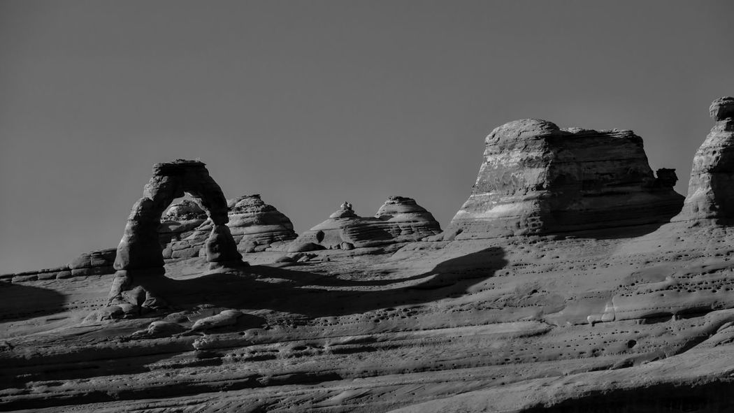 Delicate Arch. Delicatearch Utah USA USAtrip Arches National Park, Utah Beautiful B&w Paysage