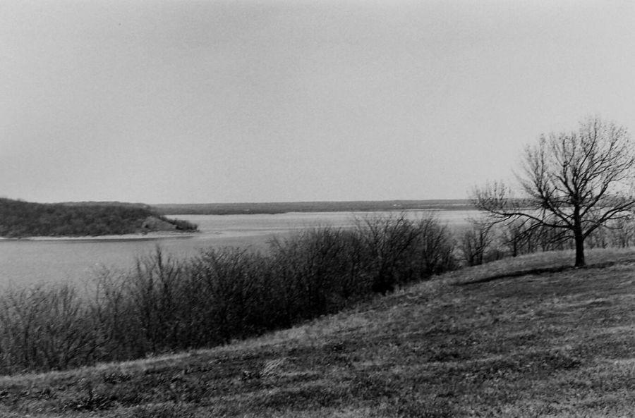 Black & White 35mm Film Landscape
