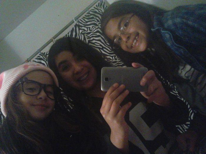 Me,sis,nd Lil Cuzin Raiders