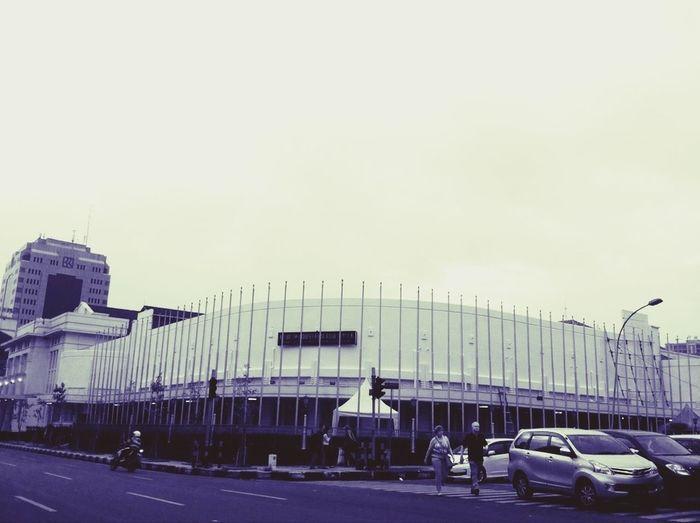 Bandung tadi sore... Historical Sights Walking Around Building Enjoying Life