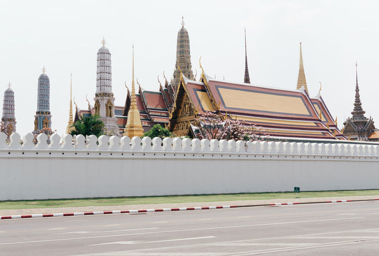 Bangkok Grand Palace Bangkok Thailand Thailand Travel Travel Photography Traveling Architecture Building Exterior Day No People Outdoors Palace Pastel Travel Destinations