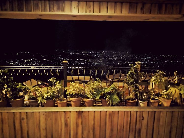 Islamabad Pakistan Night View City View  From  Monalrestaurant Damanekoh No People Night Outdoors Nature Plant Water Tree Sky Freshness