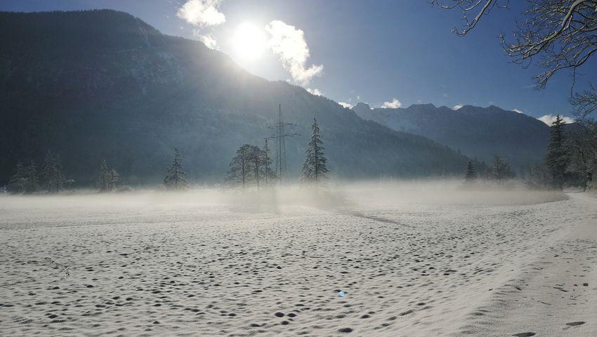 Landscape Nature Fog Mountain Outdoors AlpsMountain Frozen 3XSPUnity Snow Murnauer Moos Beauty In Nature Allgäu Alps