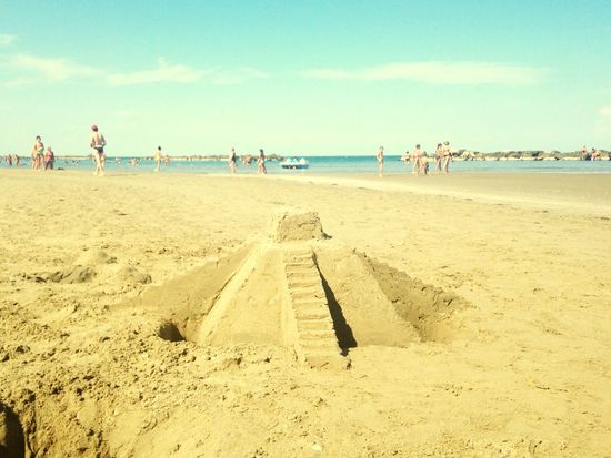 A Sacrifice is needed ! 😱 Sofiavicchi Sofiavicchiconceptdesign Castle Sand Sand Castle Ziggurat Maya South America Beach Beachphotography Sea And Sky Seaside Sea