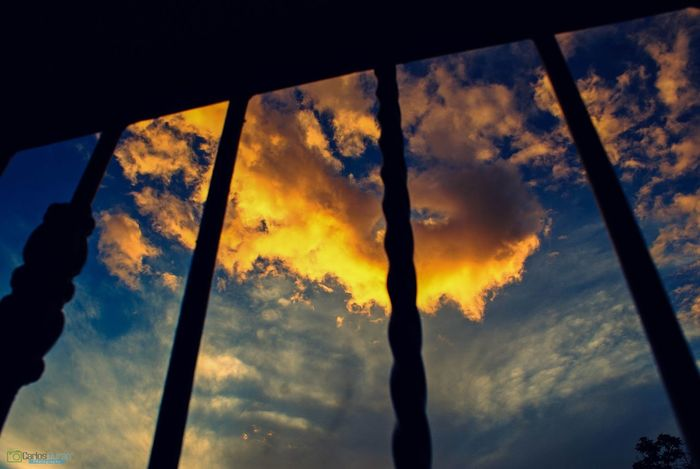 Cloud Sky Silhouette Cloud - Sky Sunset Nature Low Angle View Scenics No People Outdoors Beauty In Nature Close-up Day