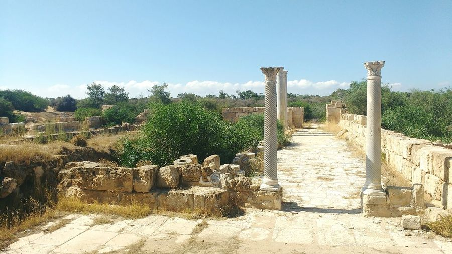 ancient street Mediterranean  Cyprus North Cyprus Ancient Column Salamis Harabeleri Ancient City Of Salamis Salamis Ruins Salamis Column Street Ancient Civilization Ancient Architecture Ancient History Ancient Street Ancient Structure Sunny Archaeology Civilization Old Ruin