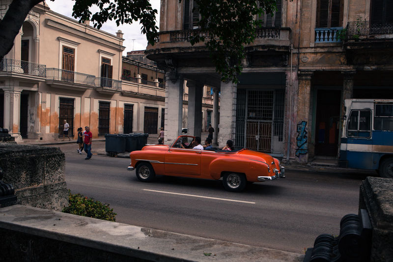 Vintage classic american car parked in a street of old Havana American Cars Car City Street Cuba Cuban Destination Havana Holiday Land Vehicle Lifestyles Mode Of Transport Old Cars Old Times Old-fashioned Oldsmobile Style Life Tourism Transportation Travel Typical Vehicle Vintage Vintage Cars