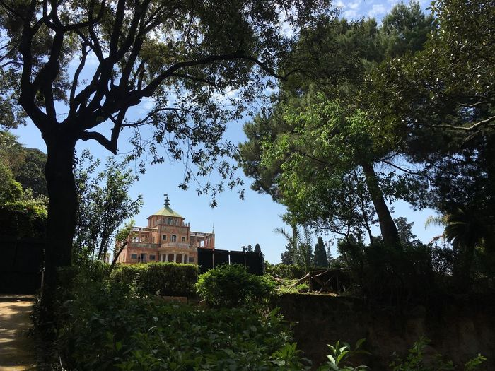 Outddoor Palermo, Italy City Park Palazzina Cinese Monuments Historical Building