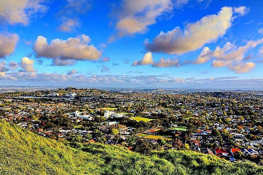 View from Mount Eden in Auckland. Nzmustdo Canon Canon760D Kiwi_photos Superhubs_souls