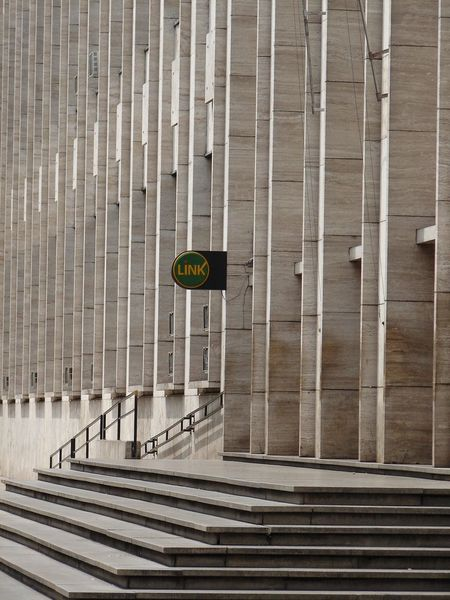 ATM at Rosario´s Palace of Justice Court EyeEmNewHere Sign Architecture Atm Contradiction No People Outdoors