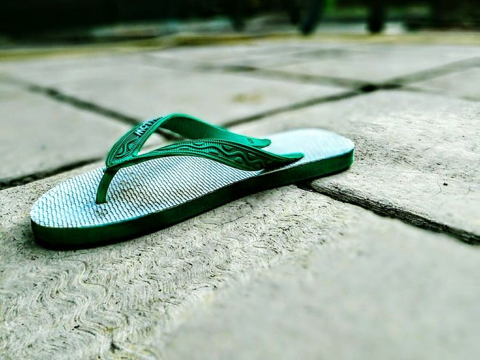 Bokeh Photography Beauty In Nature Sandal Jakrta Grean Color Shadow Shoe Close-up