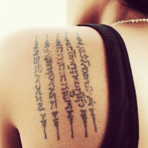 Hobby Tattoo Thaitattoo Thaigirl Thailand