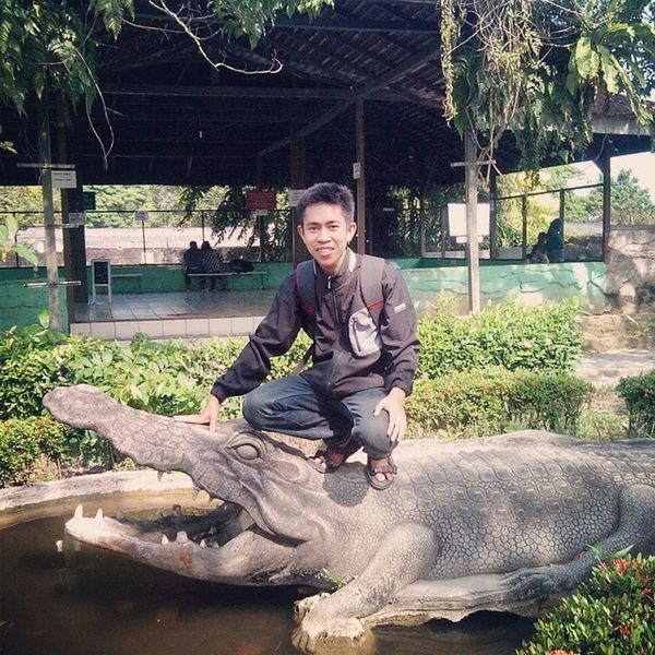 @ Crocodile Farm BmBorneo Balikpapan