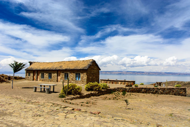 Bolivia Isla Del Sol Titicaca Travel Cloud - Sky Day Hostel Nature No People Scenics Sky Tranquility Water