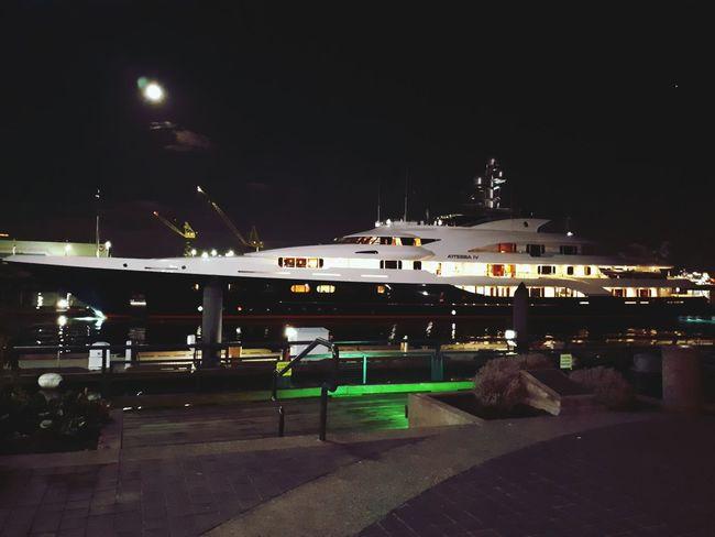 wow 👌 Boat Luxury Luxury Boat Pacific Ocean Walking BIG Coast To Coast Canada Traveling Travel Travel Destinations Fresh Illuminated Sky