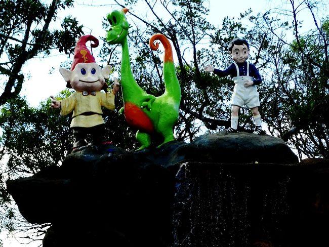 Toys Esculture Gnome Dragon Gnomo Canela, Brazil Canela/RS Serra Gaúcha