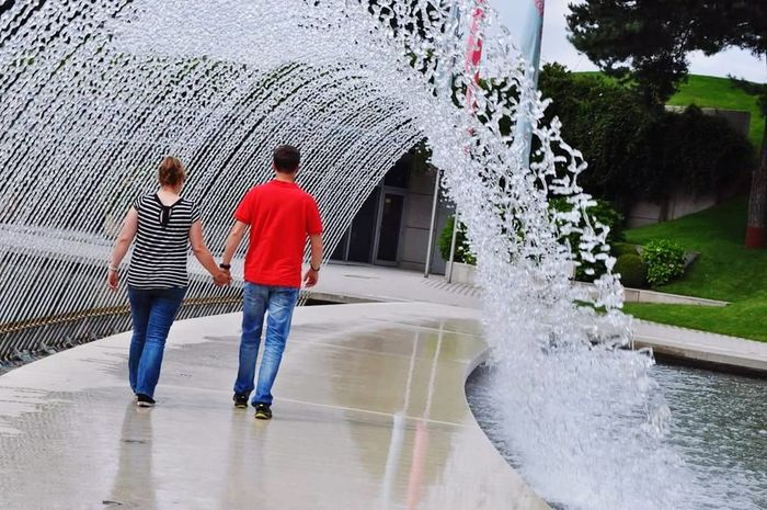 Autostadt Wolfsburg LoveIsInTheAir❤️ Waterfountain