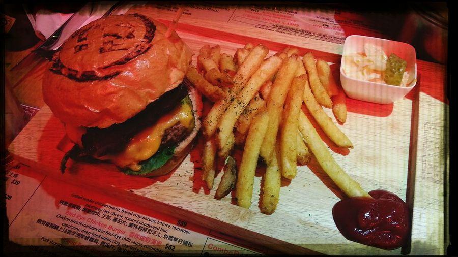 Nice dinner Burgers Dinner Juicy