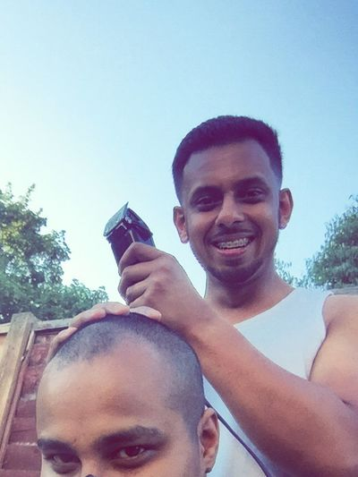 Hanging Out Withmycousin Gettingthatfade Barber💈✂️ Outdoors