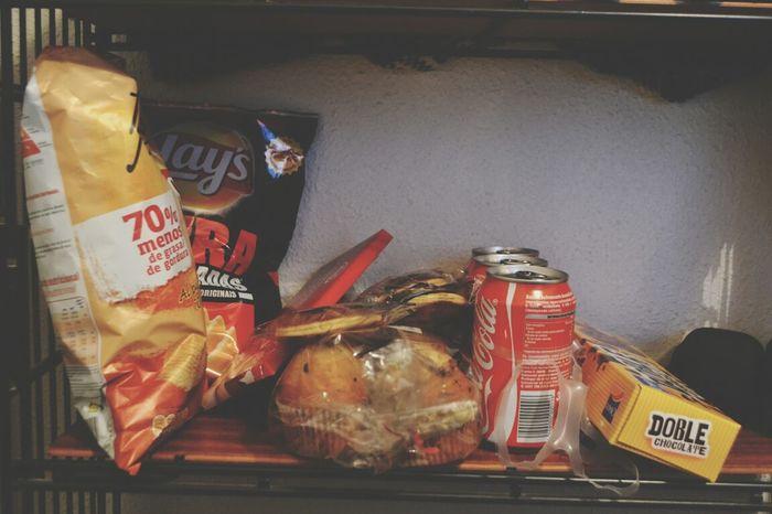 Comida para estudiar