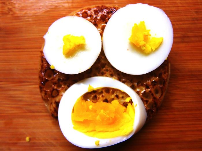 Breakfast Time With The Huffington Post Breakfast Of Champions Breakfast Egg Face Eggporn Crumpet Crumpetporn Self Portrait 2014
