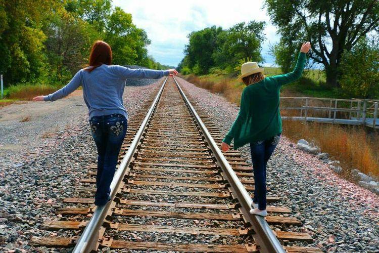 Railroad Enjoying Life Laughter GretnaNebraska Gretna Nebraska