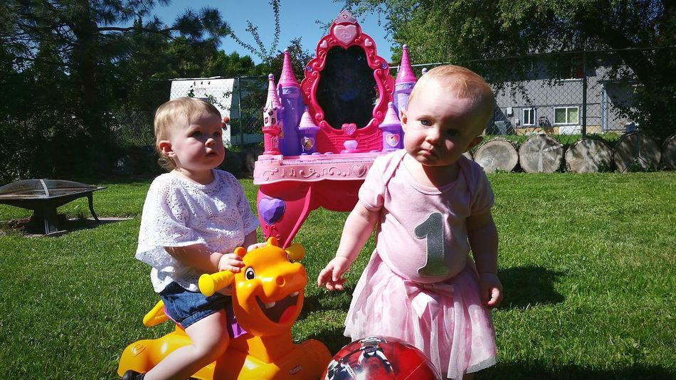 My Niece  on her first birthday with her friend playing in the lawn, as alwese of course hope you enjoy, thank you for checking it out Toddler  Toddleryears First Birthday Kids Being Kids Kidsphotography Birthday Party Birthdaygirl Taking Photos Check This Out Enjoying Life Eye4photography  Iart May 2016 by Adam O