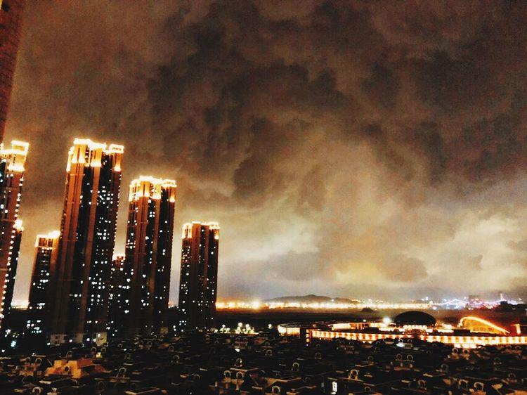 Xiamen China Sky Night Sky Night
