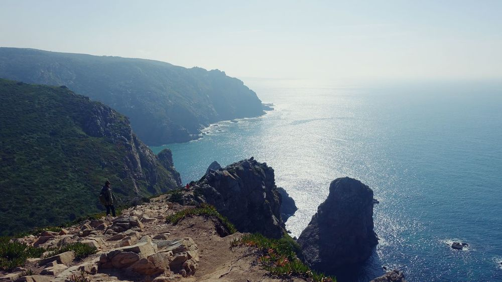Traveling Enjoying Life Naturelovers Sea View Cliffs