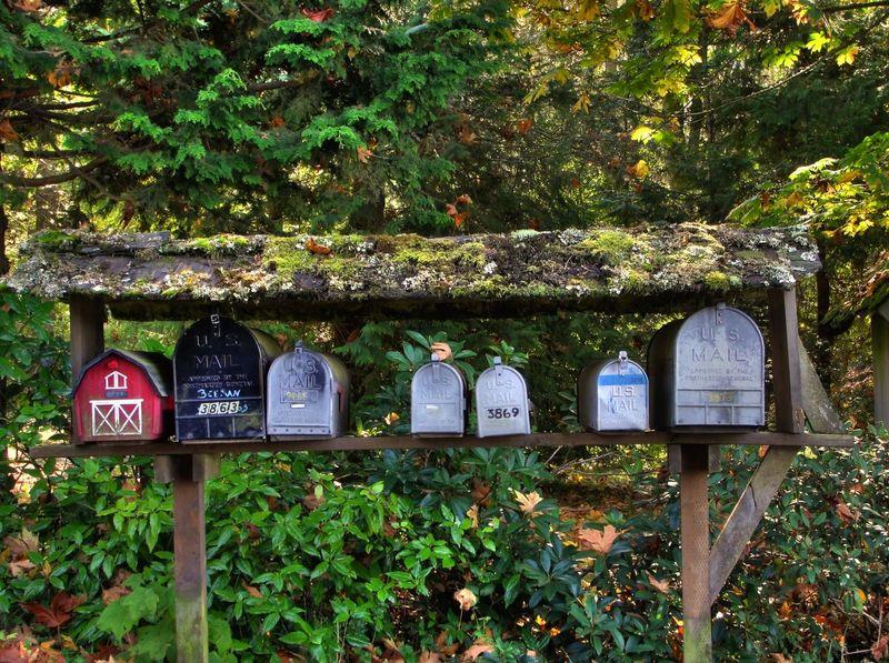 Visit Canada Garden Landscape Mailbox Nature Rual