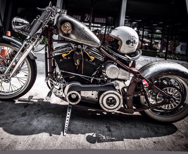 Custom Made Harley-Davidson