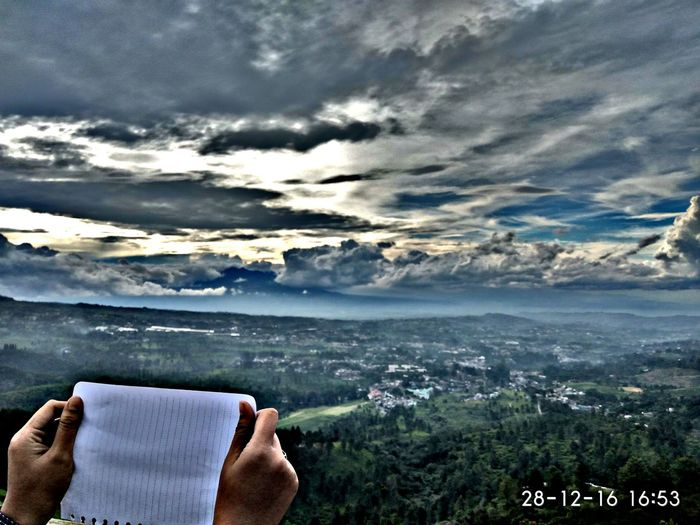"""""""Write any caption for this fu*kin amazing view.."""" 😁😂 Sky Tree Day Outdoors Nature Forrest Mountain INDONESIA Adventure Exploreindonesia Explore Photography Bogor"""