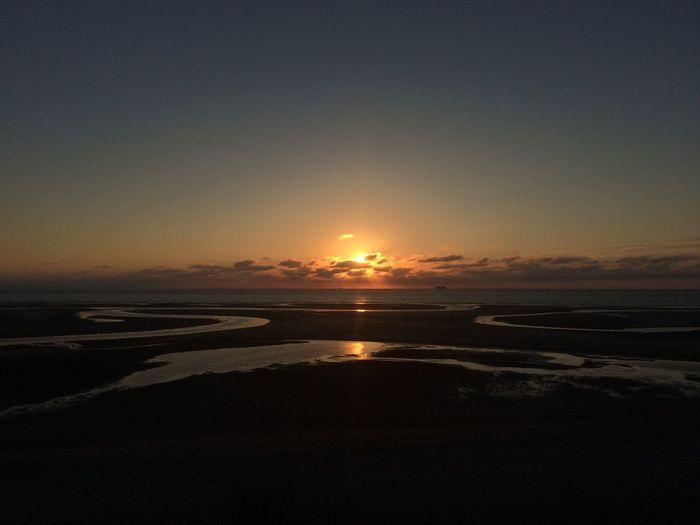 Sunset • Cadzand-Bad Netherlands Cadzand-Bad Summer Beautiful Sunset Skyscape Beach First Eyeem Photo