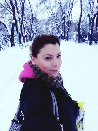 Kurtuluş Parkı Kar Kardanadam Beyaz Kartopu
