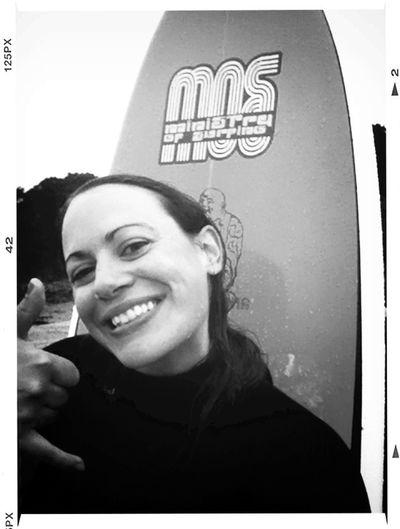 De retour d'une ptite session surf avant la fiesta du samedi soir et nouvelle planche ADOPTEE !!! First Eyeem Photo