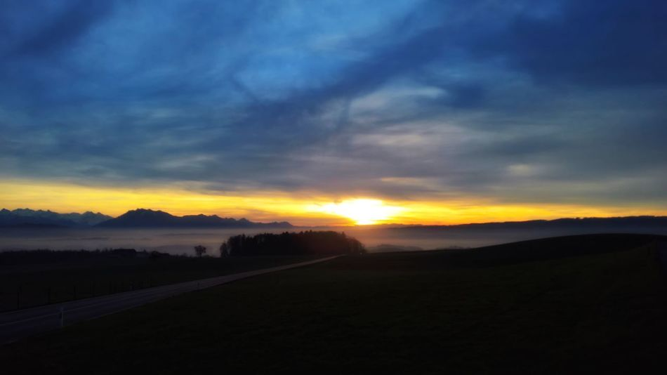 16x9 Backgrounds Beauty In Nature Blur Effect Cloud - Sky Filter Filtered Image Landscape Landscape_Collection Mountain Mountain Range Mountain View Pilatus Mt. Pilatus Nature Scenics Sunset Swiss Alps Swiss Mountains Tranquil Scene Tranquility