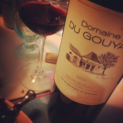 Bergerac. Valeursures Wino Redwine