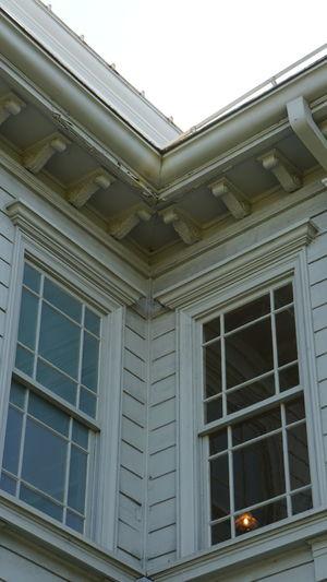おはようございます( ´ ▽ ` )ノ 天鏡閣 のパンフレットを作りたい(^∇^)笑 洋館 建物 Western Style House Retro 明日から盆休み