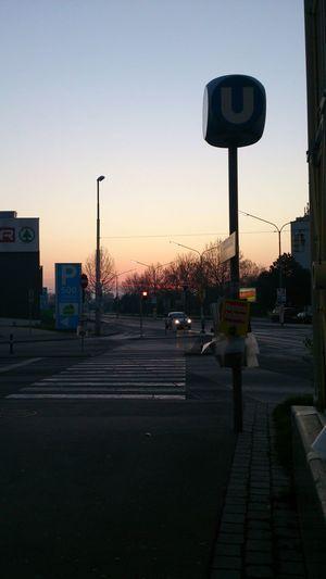 Street Streetphotography März 2014 Sonnenaufgang